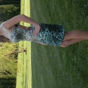 Temptation short prom dress (from prom girl)